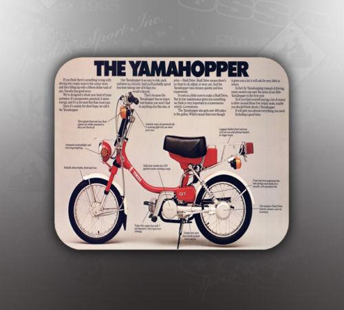 VINTAGE YAMAHA YAMAHOPPER MOUSE PAD LIKE NOS