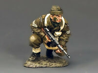 King And Country Ww2 British Commando Sergeant With 'tommy' Gun D Day Dd196
