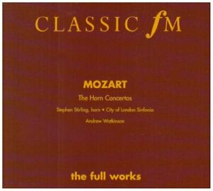 HORN-CONCERTOS-Wolfgang-Amadeus-Mozart-CD-1998-Expertly-Refurbished-Product