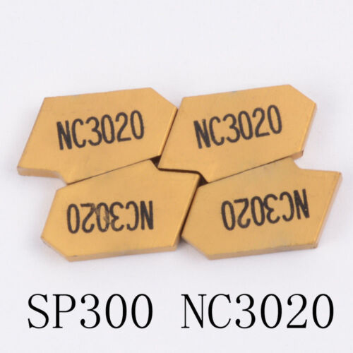 10pcs SP300 NC3020 3mm wide grooving insert cut off CNC carbide INSERT