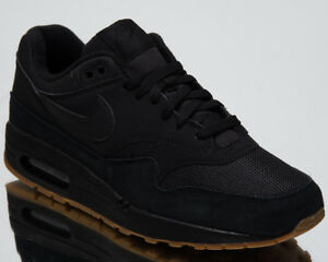 1671d7bc12633 Nike Air Max 1 Men s Lifestyle Shoes Black 2018 New Low Top Sneakers ...