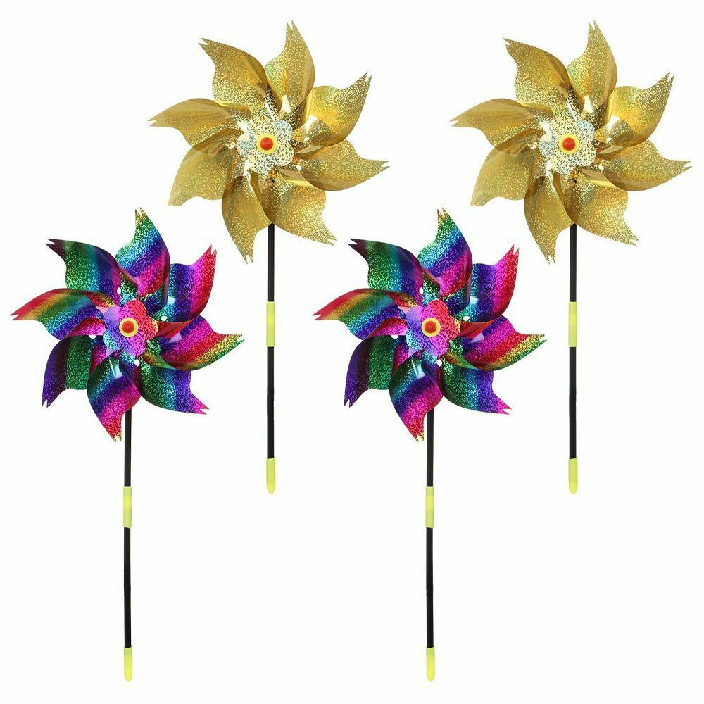 Orchard Golden Design Bright Spinners Windmill Sparkly Pinwheel Whirl Pinwheels