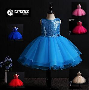Vestito-Damigella-Cerimonia-Abito-Bambina-Girl-Party-Bridesmaid-Dress-CDR087