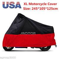 Motorcycle Dust Storage Cover For Suzuki Kawasaki Yamaha Triumph Dirt Bike Xl