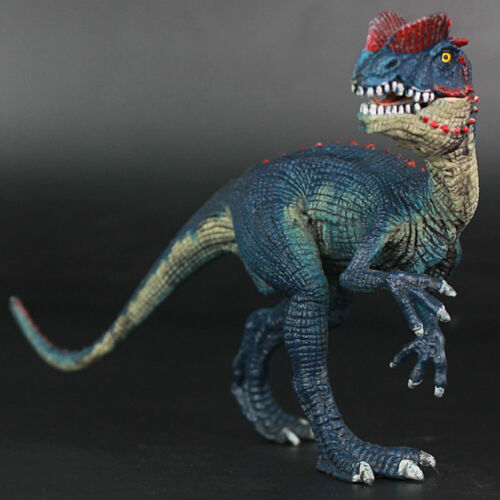New Jurassic Dinosaurs Dilophosaurus Model Toy Home Decoration Decor Kids Gifts
