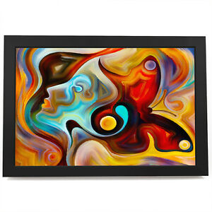 AB567 Colourful Butterfly Modern Abstract Framed Wall Art Large Picture Prints