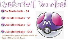Pokemon Sword and Shield Masterball Bundles!