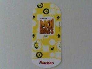 Carte Auchan Moi Moche Et Mechant 3.Details Sur Carte Auchan Moi Moche Et Mechant 3 Minions Au Choix Tous Les N Disponibles
