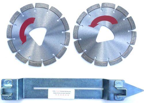 """2PK-10/"""" Husqvarna Soff-Cut RED Diamond Blade w//1 Skid Plate-BEST"""