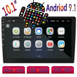 2Din 10.1'' Android 9.1 GPS Autoradio MP5 Lettore con Bluetooth WIFI FM Funzione