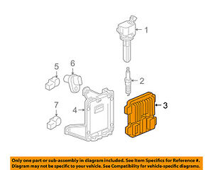 image is loading gm-oem-ecm-pcm-ecu-engine-control-module-