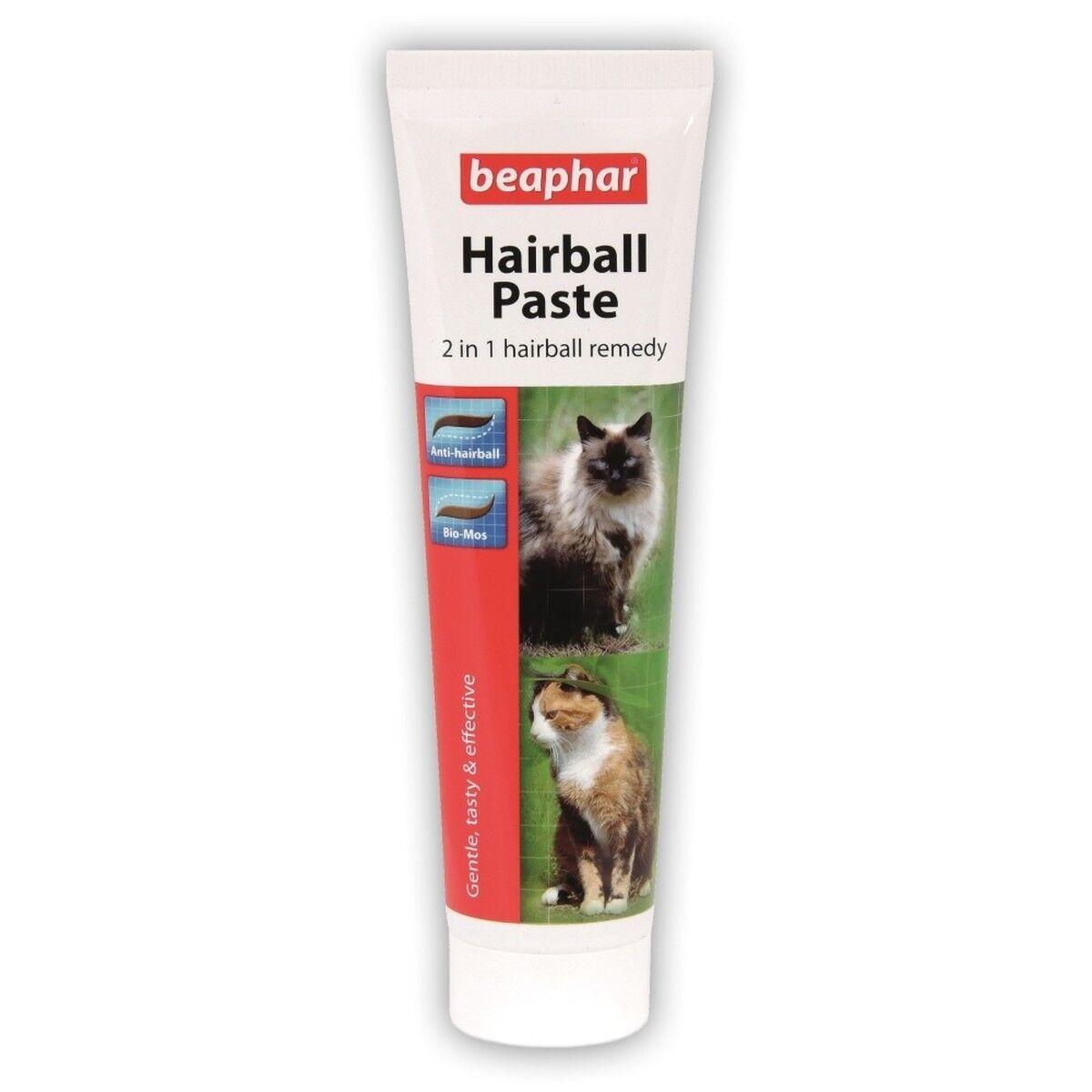 Beaphar 2 in 1 Hairball Paste For Cats 100g Special Bulk Buy Deals