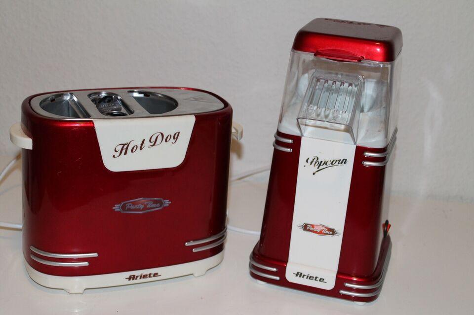 Popcorn of Hot dog maskiner