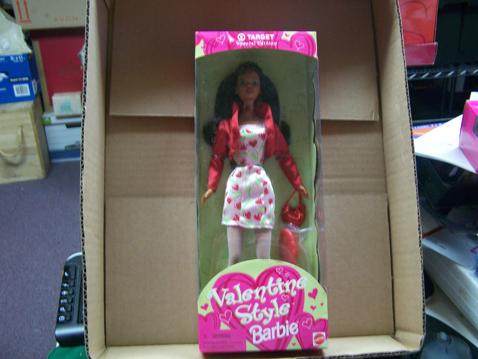 1998 African American Valentine Style Target Special Edition  MIB  FREE SHIP