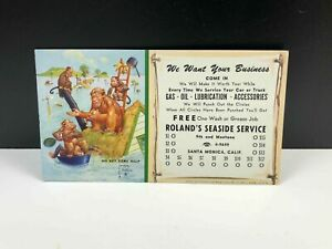 Vintage-LAWSON-WOOD-Go-Get-Some-Help-Marketing-Postcard