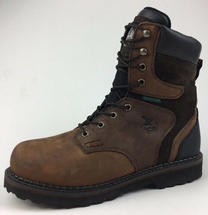 Georgia Mens Brookville Waterproof Workboot - G9134 - Size 11M 184