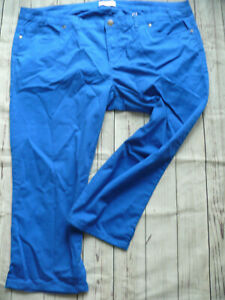 Sheego-Trousers-7-8-Carpihose-Blue-Tone-Size-48-to-54-plus-Size-841