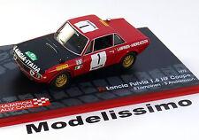 1:43 Altaya Lancia Fulvia 1,6 HF #1 Rally Morocco 1972