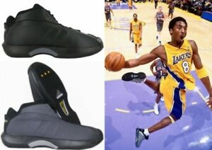 huge discount d3a06 ce493 Image is loading Adidas-Crazy-1-Kobe-Playoff-Mesh-Basketball-Shoes-