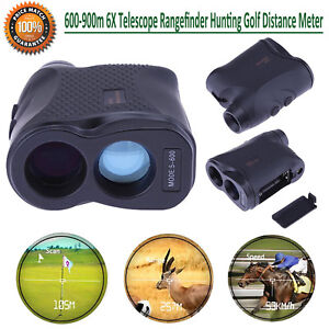 600-900m-6X-Rangefinder-Hunting-Range-Finder-Telescope-Distance-Meter-lot