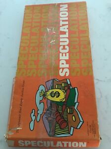 Vintage Rare 1968 Antique Speculation The Dynamic Real Estate Auction Game Ebay