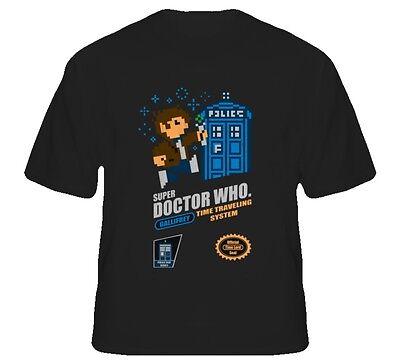 Doctor Who Super Doctor Nintendo T Shirt