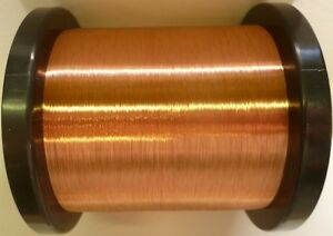 COIL WIRE 43AWG ENAMELLED COPPER GUITAR PICKUP WIRE MAGNET WIRE 100Grams
