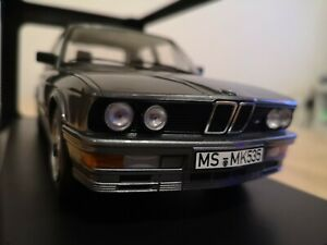 Norev-1-18-BMW-M535i-E28-1986-greymetallic-Edicion-Limitada