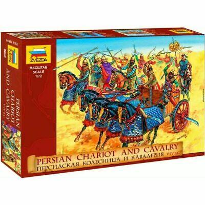 Logico Zvezda 1:72 Soldatini Da Colorare Persian Chariot And Cavalry V-iv B.c. Art 8008 Può Essere Ripetutamente Ripetuto.