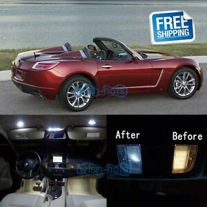 Marvelous Image Is Loading White LED Lights Interior Package Kit For 2007