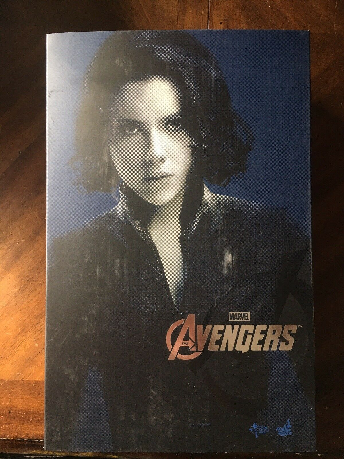 Hot Toys MMS178 The Avengers Black Widow 1/6 Scale on eBay thumbnail