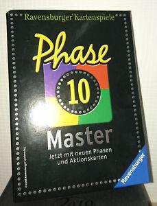 PHASE-10-MASTER-neue-Phasen-Karten-DAS-Ravensburger-ORIGINAL-wie-NEU