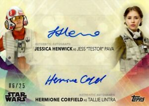 Woman-Of-Star-Wars-2020-Dual-Autograph-Card-Henwick-amp-Corfield-as-Jess-amp-Tallie