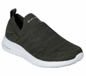 Skechers-Oliva-Scarpe-Uomo-Foam-Comfort-Slip-Memory-su-Maglia-Casual-Comfort-51909