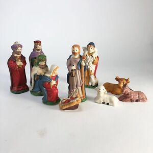 10-piece-vintage-ceramic-nativity-set-Joseph-is-4-5-tall-for-reference