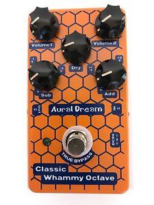 New-Aural-Dream-Classic-Whammy-Octave-Digital-Guitar-Effect-Pedal