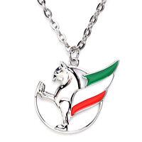 Iranian Persian Simorq Necklace Iran Flag King Persia Simorgh Chain Pahlavi Gift