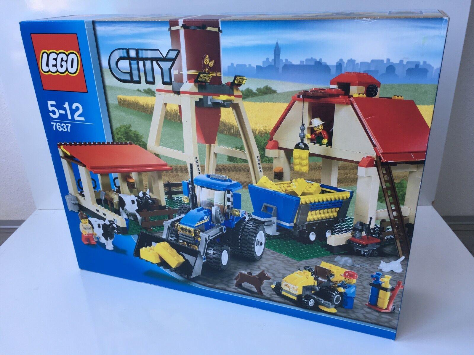 Lego City  7637 Farm nouveau SEALED BOX  Découvrez le moins cher