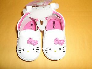 0ae71bfcd154c GIRL'S BABY INFANT SHOES SNEAKERS SIZE 6-9 MONTHS HELLO KITTY | eBay