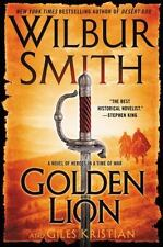 Golden Lion by Wilbur Smith and Giles Kristian (2015, Hardcover)