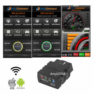 elm wifi bluetooth obd obdii auto car diagnostic scanner  iphone android ebay