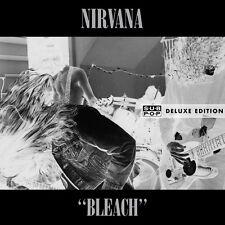 Nirvana - Bleach Deluxe 2 LP set 180g NEW SEALED! w/ bonus live & download code