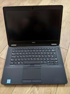 """Dell Latitude E7470 Core i5 6300U 2.5GHz 8GB 256GB SSD 14.1"""" FHD Windows 10 655"""