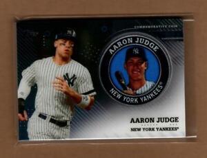 2020 Topps Series 2 TPM-AJ Aaron Judge Player Medallion / Yankees, Tough, HOT
