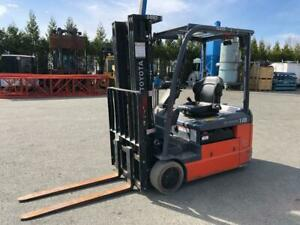 2017 TOYOTA 8FBEH18U Forklift Canada Preview