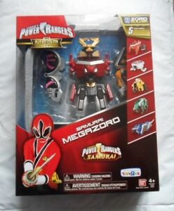 Power Rangers Figurine articulée Megazord Bull Super Samurai Deluxe avec Dx Bullzord