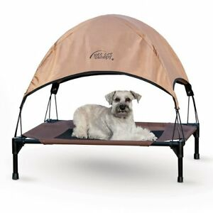 outdoor cat dog bed canopy portable pet summer tent cover puppy house shelter ebay. Black Bedroom Furniture Sets. Home Design Ideas