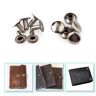 100PCS Fashion DIY pearl Cap Rivets Two Piece Tubular Leather Craft Repair pearl