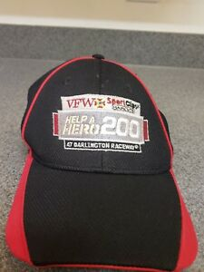 Darlington-Raceway-Help-a-Hero-200-New-Era-Flex-Fit-Hat-Cap-Nascar-Sz-Med-Large