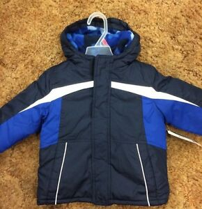 2953196b581f Faded Glory Infant Boys Coat Size 18 M 4 In 1 System Navy ...